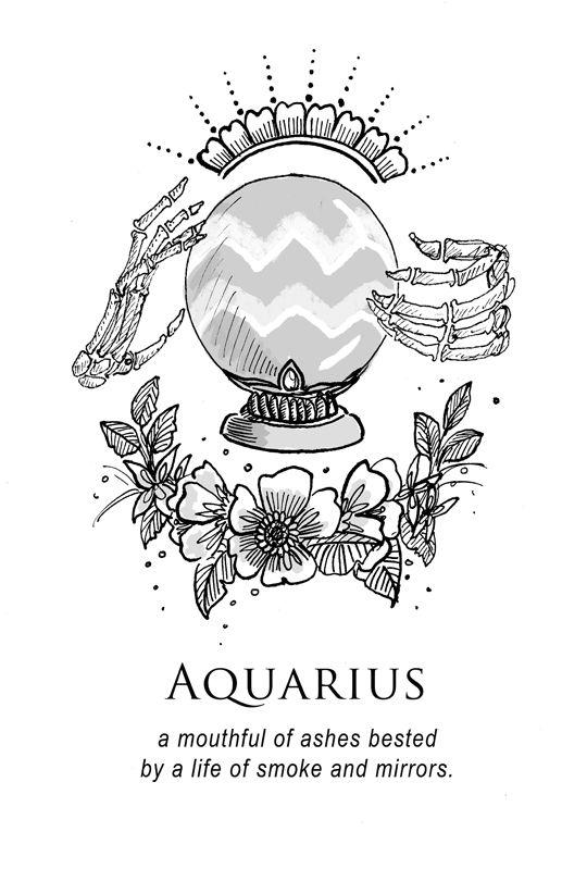 Drawn zodiac tumblr background #12