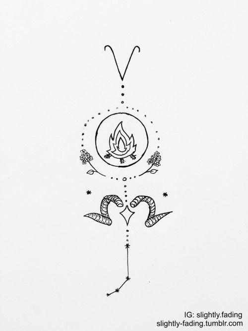 Drawn zodiac tumblr background #11