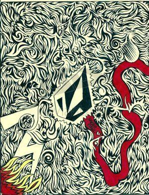Drawn stare volcom Iphone Wallpaper volcom best 14