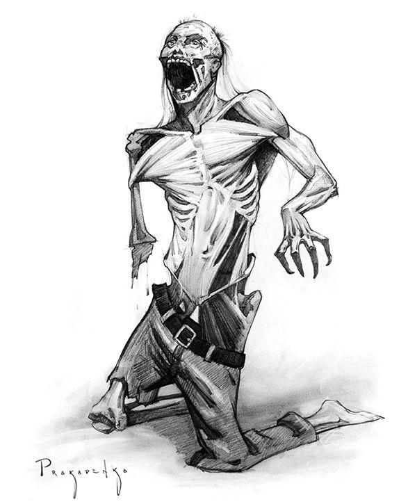 Drawn zombie Pinterest How to 25+ Zombie
