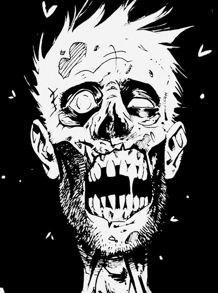 Drawn zombie 10 Zombies I Pinterest like