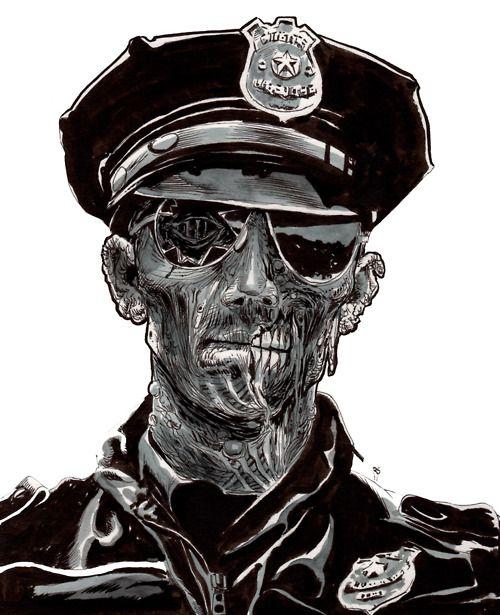 Drawn zombie #2
