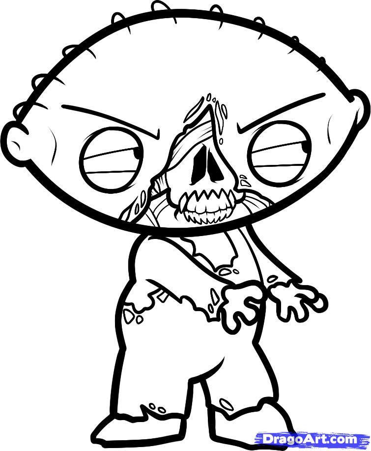 Drawn zombie Stewie Stewie how Step to