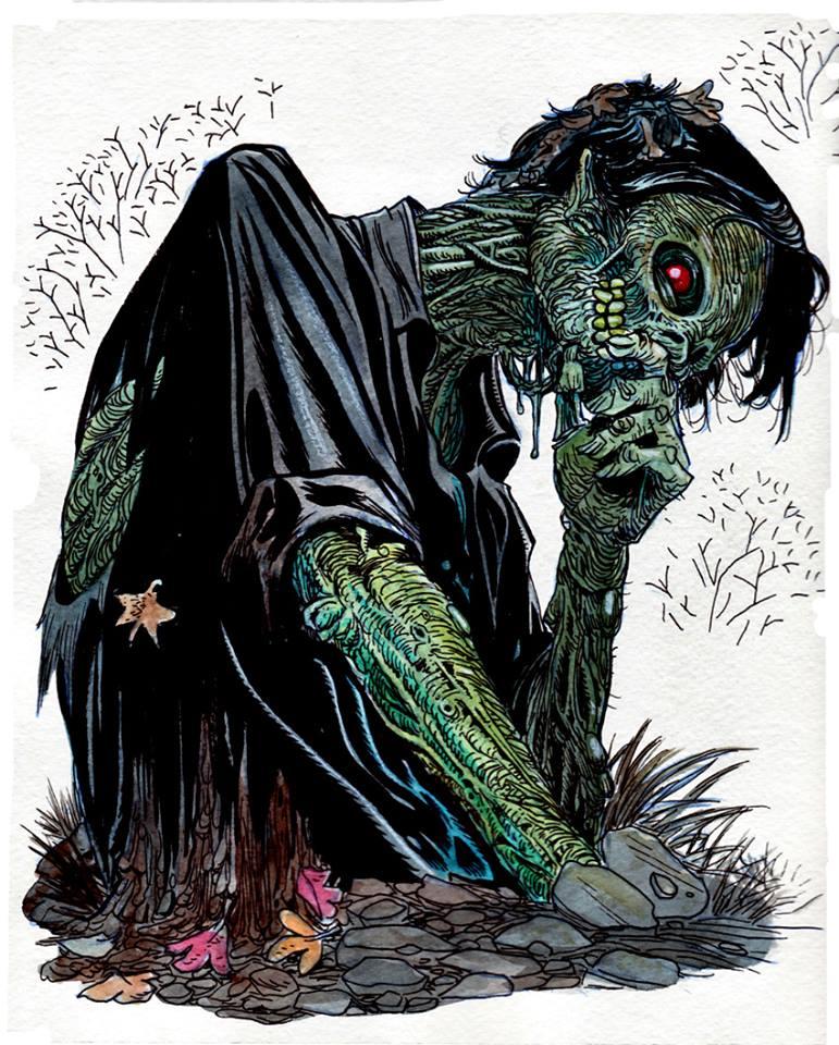 Drawn zombie #8