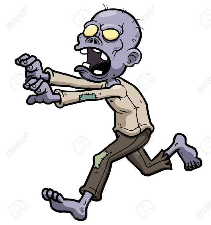 Zombie clipart cartoon character Zombie And Pinterest best Cartoon