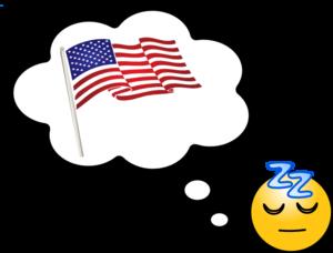 Dreaming clipart transparent American at clip Dream American