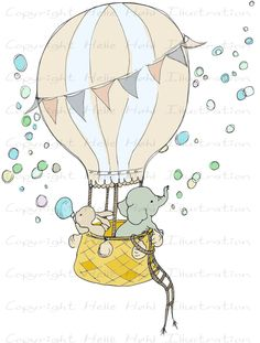 Dream clipart balloon Or bunny Craft Air DOWNLOAD