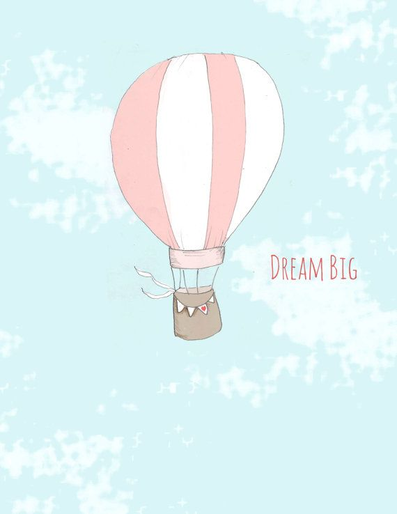 Dream clipart balloon Pinterest Decor illustration Baby Art