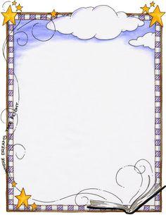 Dream clipart border Your page borders and da
