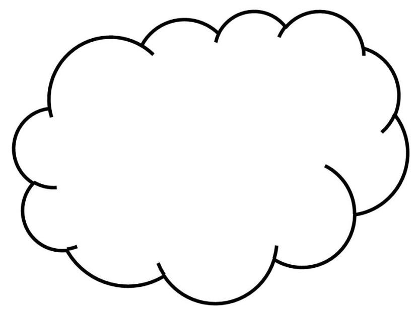 Clouds clipart dream cloud Clipart Best White Cloud collection