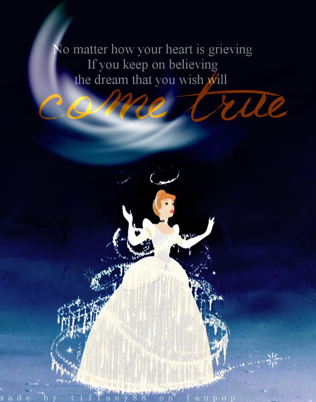 Dream clipart come true Come quotes Cinderella true Pinterest
