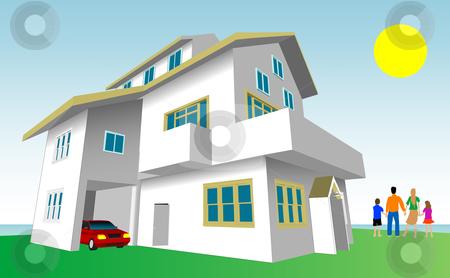 Hosue clipart dream house Stock Dream Dream vector Home
