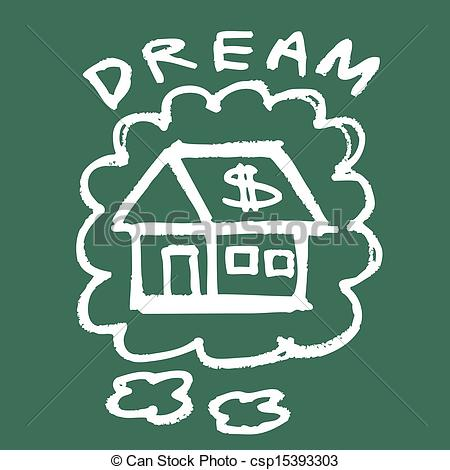 Dreaming clipart dream home #5