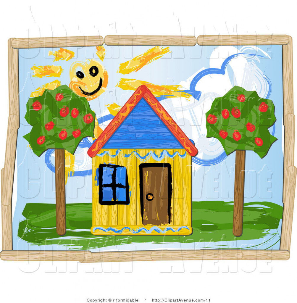 Hosue clipart dream house Children House Dream Drawing House