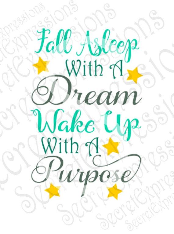 Dreaming clipart fall asleep Inspirational Cutting Dream A Svg