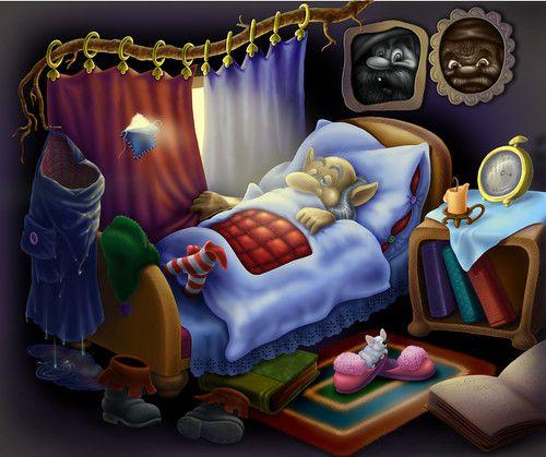Dream clipart falling asleep FantasyAlbumSnugglesSpritesIllustrationClip · images on DreamsFalling