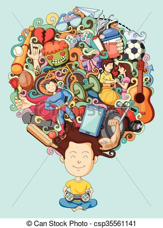 Dream clipart final thought Thought boy csp35561141 teenage EPS