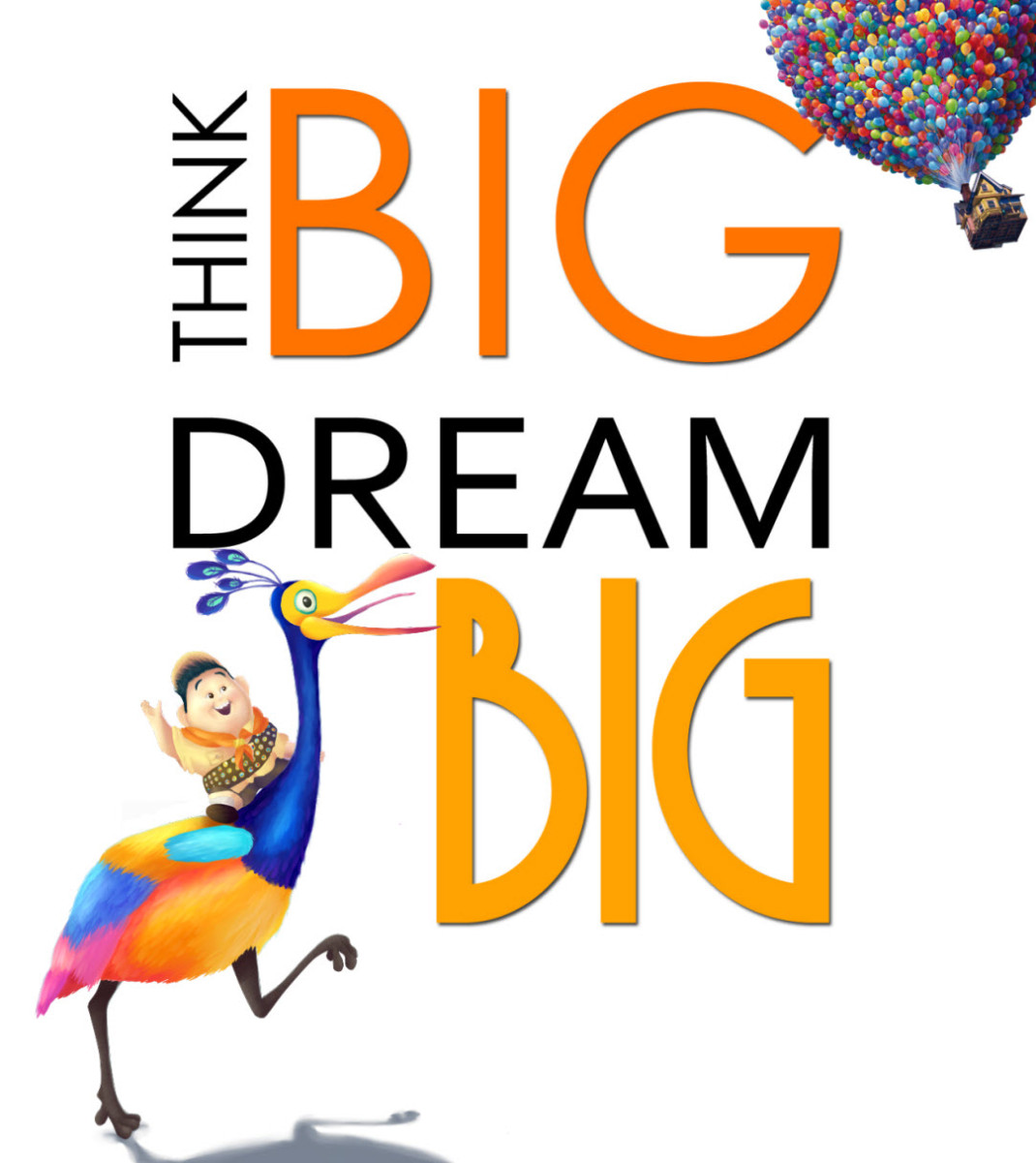 Dream clipart i think Dream Often  Big! Dream