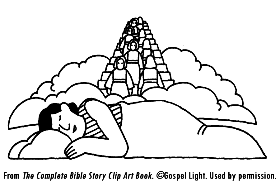 Dreaming clipart jacob's Sunday school Sunday to Haran