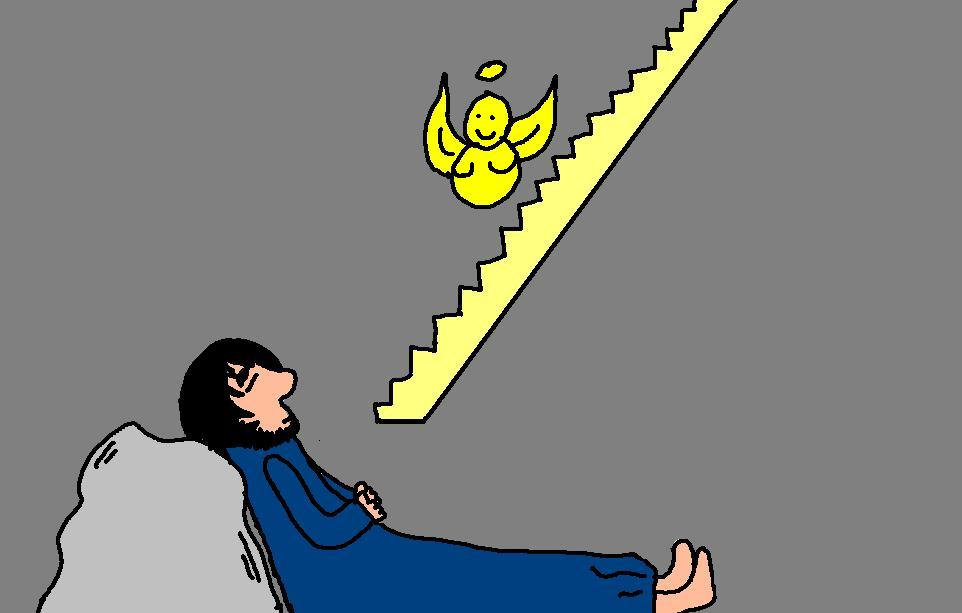 Dreaming clipart jacob's A Vision of Ladder ladder