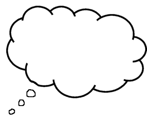 Dreaming clipart kid thinking Clip 2 Bubble bubble Thought
