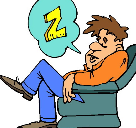 Tired clipart lack sleep #4