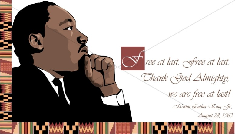 Dream clipart mlk Last Luther Luther Sharefaith Images