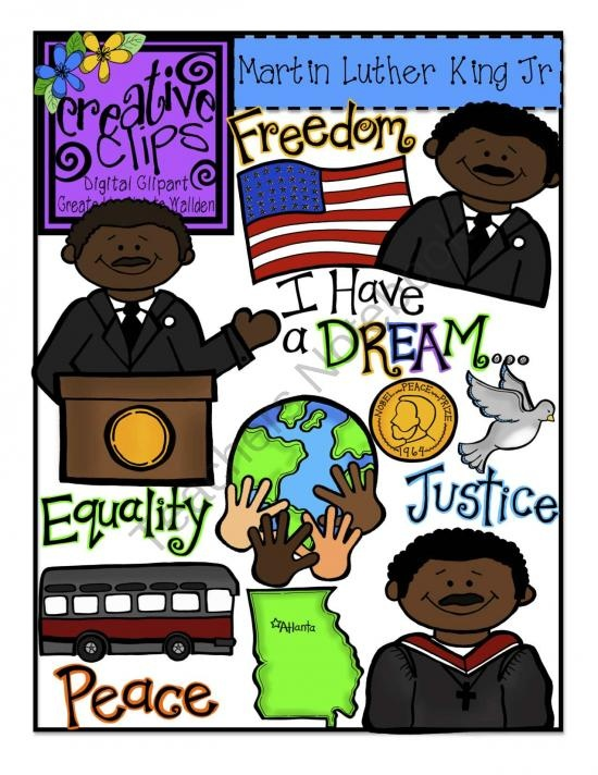 Martin Luther King clipart Martin Luther King I Have A Dream Clipart Jr Jr King Pinterest Day