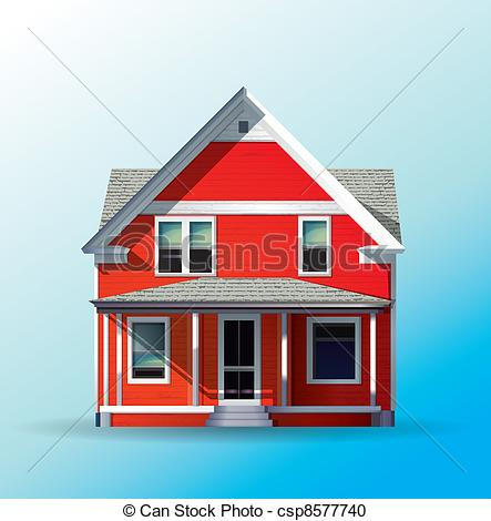Dream clipart property Csp8577740  dream House Family