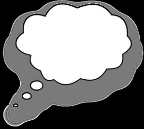 Imagination clipart bubble Clker vector Speech com Bubble