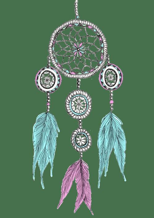 Dream clipart transparent Feathers Colours Dream Catcher transparent