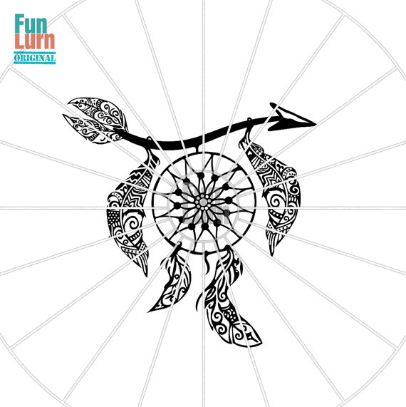 Dreamcatcher clipart geometric Dreamcatcher from svg mandala