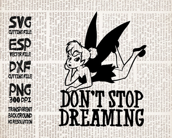 Dreaming clipart caption Cut files Quote stop Dxf