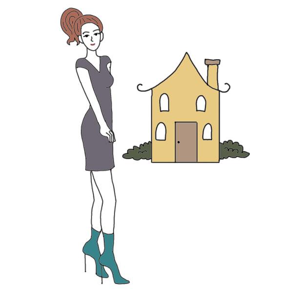 Dreaming clipart dream house #3