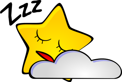 Dreaming clipart fall asleep To Dreaming A asleep place