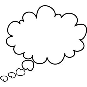 Dreaming clipart i think Bubble Vectors Clipart Cliparts art