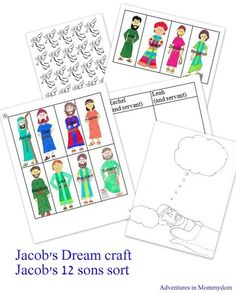 Dreaming clipart jacob's Adventures Ladders Page and Jacobs