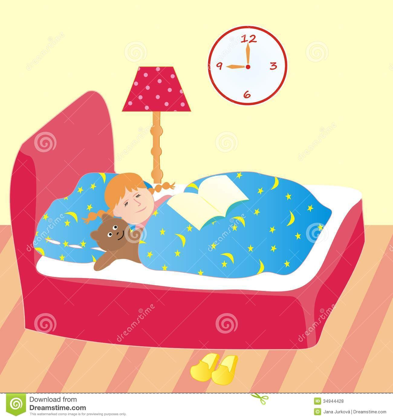 Dreaming clipart kid bed Going Girl Bed Kid Bed