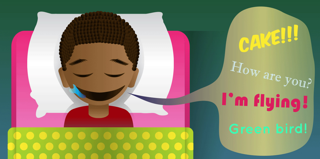 Dreaming clipart lack sleep Minds talking Young sleep Scientific