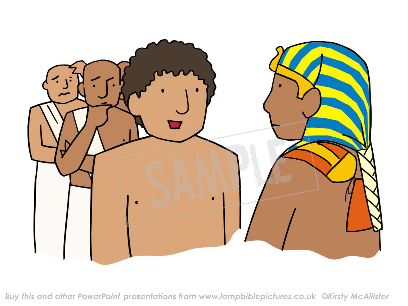 Dreaming clipart pharaoh Bible Pharaoh's before Lamp Pharaoh