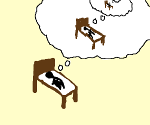 Dreaming clipart scenario Of exact Dreaming in waking