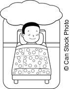 Dreaming clipart sleepy boy Boy a Dreaming Boy A