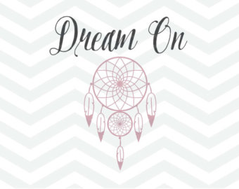 Dreaming clipart the word Cricut SVG Etsy Silhouette Dream