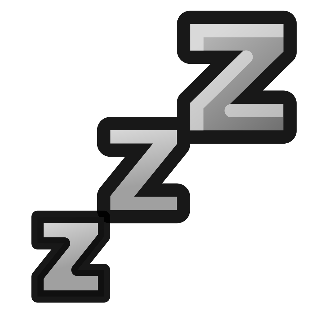 Bed clipart zzz Information Icon upload wikimedia org