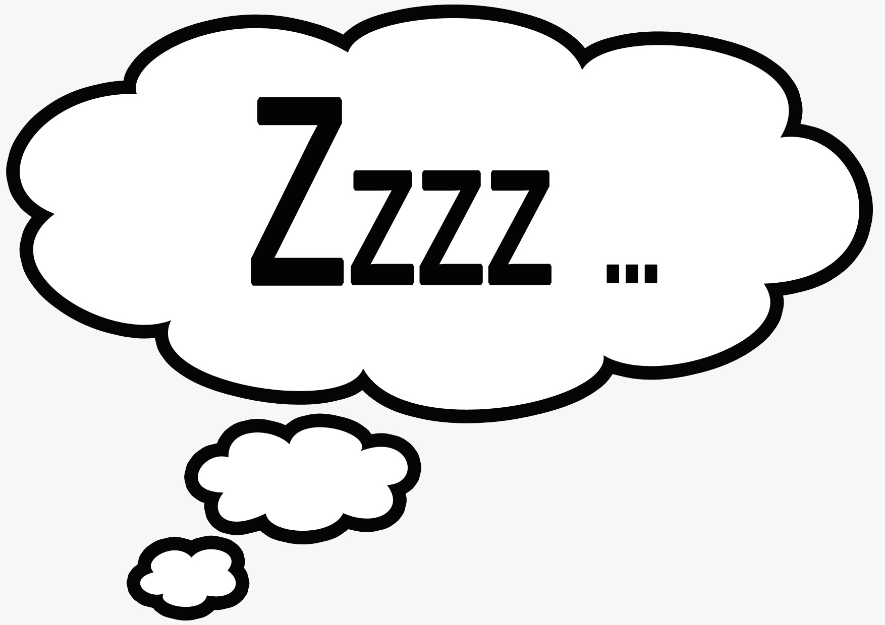 Dreaming clipart zzzz Art Sleeping Clipart Clipart Picture