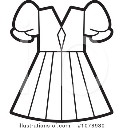 Dress clipart (RF) #1078930 Clipart Clipart by