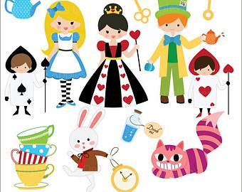 Dress clipart alice in wonderland In Alice Clip Fairy Art