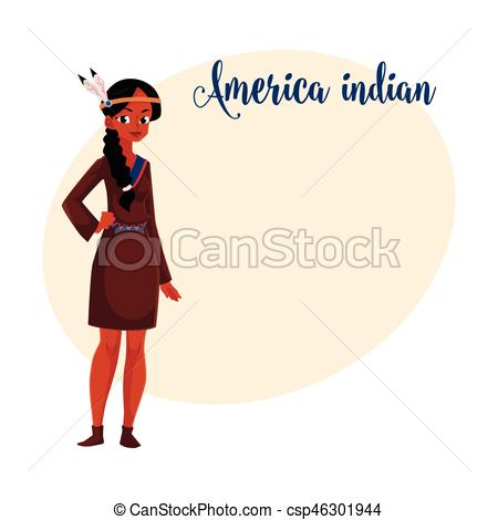 Dress clipart american traditional Woman shirt of Native