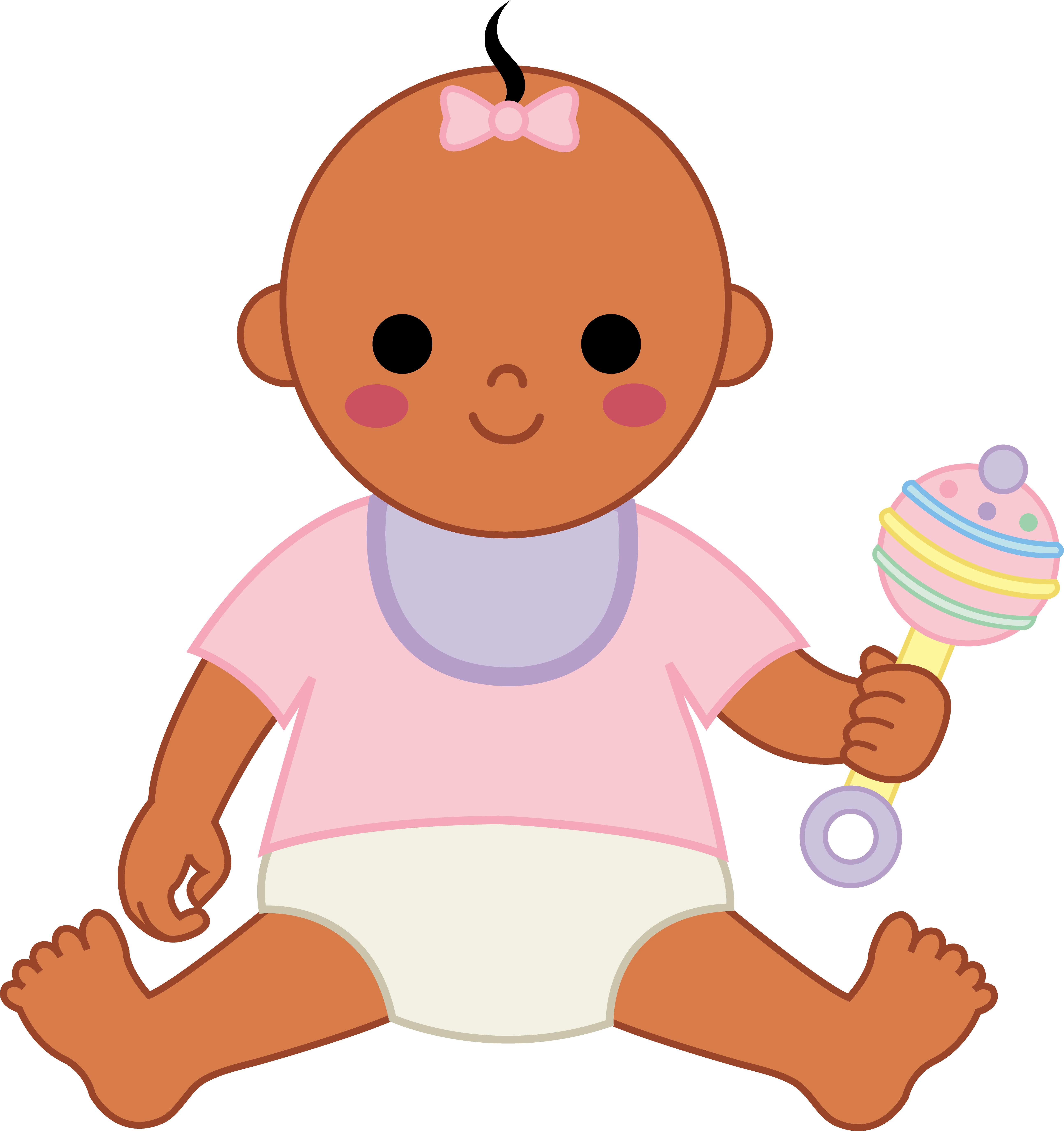Baby clipart animated Animated clipart baby dress collection