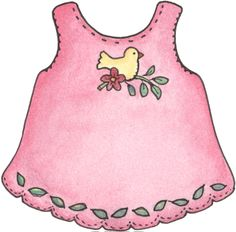 Dress clipart baby dress DressesDigital e PlasticRaggedy BABY Bebê